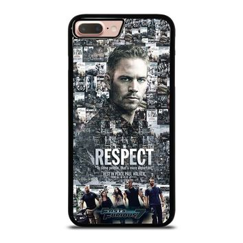 FAST FURIOUS 7 PAUL WALKER iPhone 8 Plus Case Cover