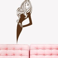 Wall Decal Vinyl Sticker Art Woman Quote Fashion Beauty Salon Boutique V372