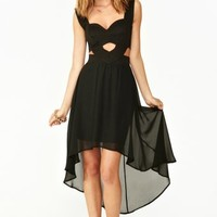 Moonlit Cutout Dress