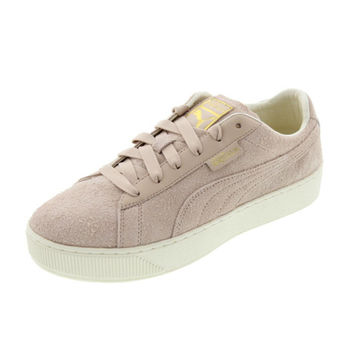 Puma Womens Tabaka Suede Platforms Fashion Sneakers