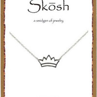 Skōsh Crown Necklace 16""