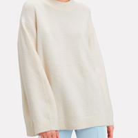 Josette Oversized Bouclé Sweater