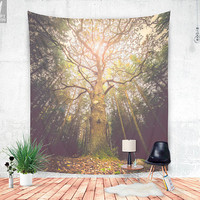 The taller we are Wall tapestry