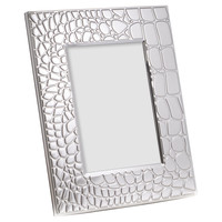 Silver Plated 5x7 Croco Frame, Other Lifestyle Accessories