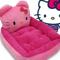 2 Size Hello Kitty Pet Warm Soft House Supply For Dog/Cat/ Rabbit Bed Pet Sleeping Lounger Bag For Love Dog And Cat Small Pet