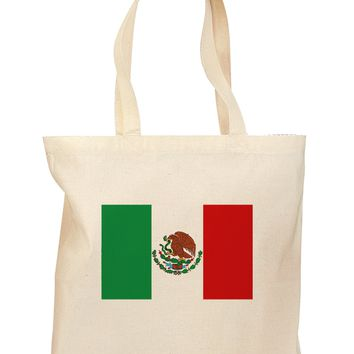 Mexican Flag Grocery Tote Bag