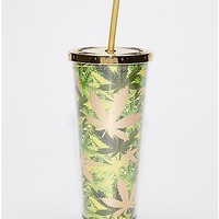 Leaf Cup With Straw - 24 oz - Spencer's