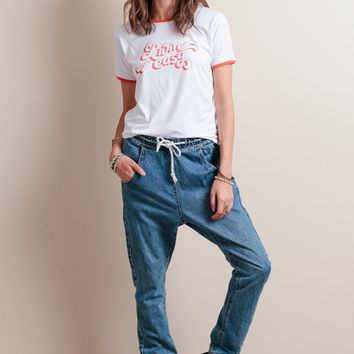 Super Trackies Jeans In Pacifica By One Teaspoon