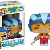 Funko Pop  Animation Vinyl Family Ray Gun Stewie 34 5241