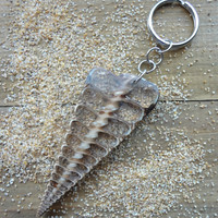 Sea Shell Ocean Keychain
