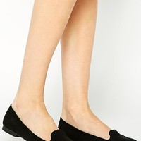 New Look Jiggle Black Slipper Shoes