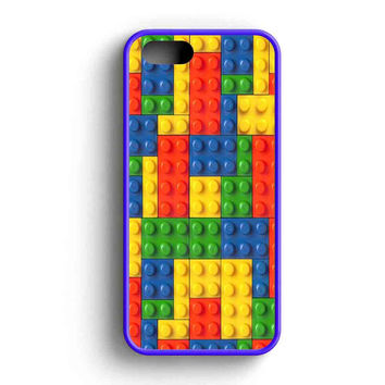 Lego Art Design  iPhone 5 Case iPhone 5s Case iPhone 5c Case