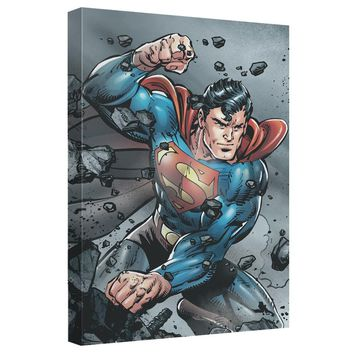Superman - Indestructible Canvas Wall Art With Back Board