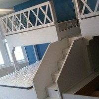 Cindi's Adult bunk beds, Quad Bunkbeds for Adults