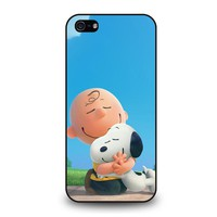 SNOOPY AND CHARLIE BROWN THE PEANUTS iPhone 5 / 5S / SE Case Cover