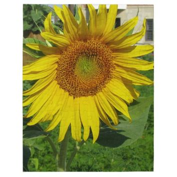 Large sunflower puzzle