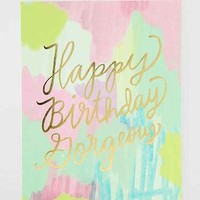 Moglea Happy Birthday Gorgeous Card - Assorted One
