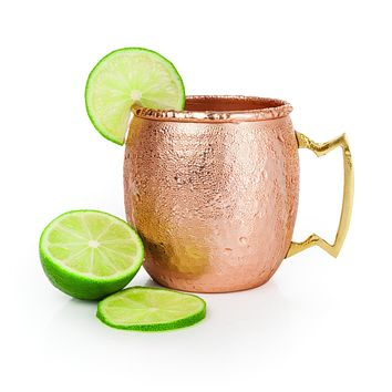 Moscow Mule 16oz Copper and Nickle lined Mug