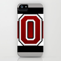 Ohio State Glove Stripe iPhone & iPod Case by Timothy Davis