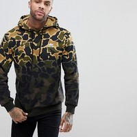 adidas Originals Camo Hoodie In Green CE1547 at asos.com