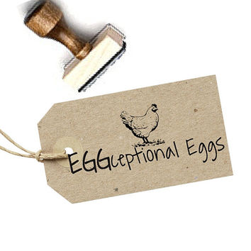 Chicken Egg Carton Stamp - Farmer's Market Labels - Egg Carton Tag - Egg Carton Label - Backyard Chicken Egg Stamp - Farmers Market Tags