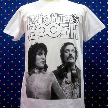 Stand-Up Comedian The Mighty Boosh Sitcom Noel and Julian White T-shirt Size M