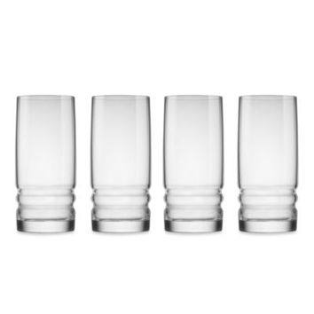 Bormioli Rocco Metropolitan 4-Piece 16.25-Inch Cooler Drinking Glass Set
