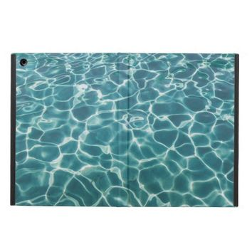 Bright Blue Pool Water Reflecting Light iPad Air Cover