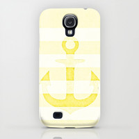 Vintage Anchor Yellow iPhone & iPod Case by Monika Strigel | Society6