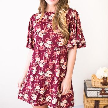 Picking Wildflowers Floral Dress