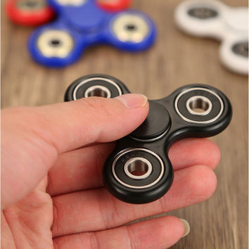 New Colorful Tri-Spinner Fidgets Toy Sensory Fidget Spinner Anti Stress Toys