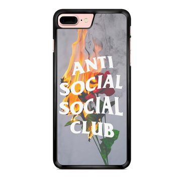 Anti Social Social Club Rose iPhone 7 Plus Case
