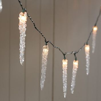 String Lights Pottery Barn : Icicle String Lights Pottery Barn from Pottery Barn