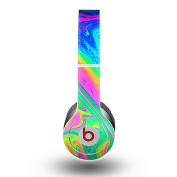 The Neon Color Fushion V3 Skin for the Beats by Dre Original Solo-Solo HD Headphones