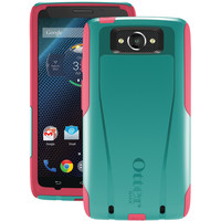 Otterbox Droid Turbo By Motorola Commuter Series Case (teal Rose Ii)