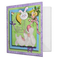 My Easter Memories Baby SCRAPBOOK BINDER