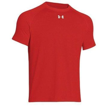 Under Armour Heat Gear Tech Short Sleeve Locker T-Shirt, 4 Colors (Size S-XL)