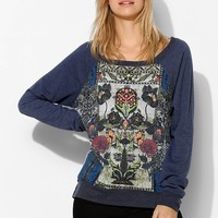 Chaser Embroidered Pullover Sweatshirt - Urban Outfitters