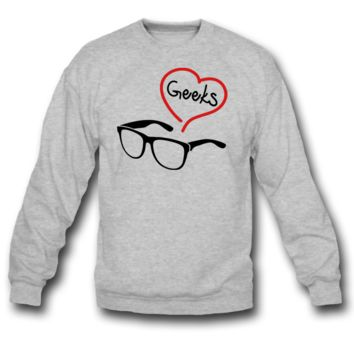 GEEK  SWEATSHIRT CREWNECK
