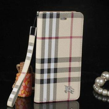 onetow One-nice? Perfect Burberry Fashion Print iPhone Phone Cover Case For iphone 6 6s 6plus 6s-plus 7 7plus