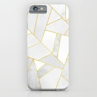 White Stone iPhone & iPod Case by Elisabeth Fredriksson
