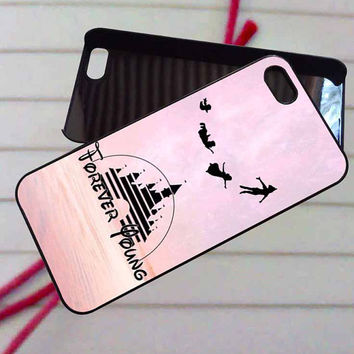 Peter Pan Forever Young - case iPhone 4/4s,5,5s,5c,6,6+samsung s3,4,5,6