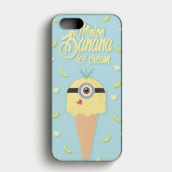 Banana Ice Cream iPhone SE Case