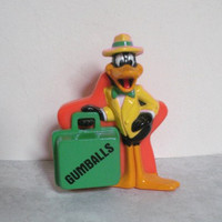 Daffy Duck Gumball Dispenser 1988 Warner Brothers Looney Tunes