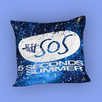 5SOS Blue Galaxy for Pillow Case, Pillow Cover, Custom Pillow Case **