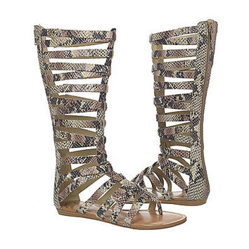 "Fergalicious® ""Supreme"" Gladiator Sandals at www.carsons.com"