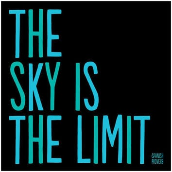 THE SKY IS THE LIMIT - Magnet