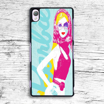 Vacation Barbie Sony Xperia Case, iPhone 4s 5s 5c 6s Plus Cases, iPod Touch 4 5 6 case, samsung case, HTC case, LG case, Nexus case, iPad cases