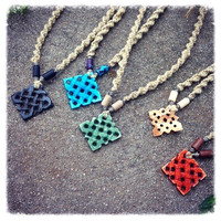 Diamond Celtic Knot Necklace