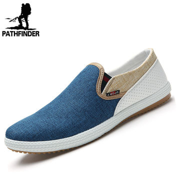Summer Style 2016 Fashion Men Canvas Shoes